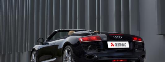 Akrapovič Slip-On Line Auspuffsystem für Audi R8 Coupé/Spyder