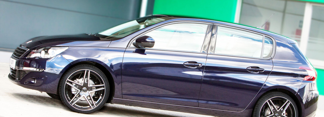 Peugeot 308: neue Räder von AZEV