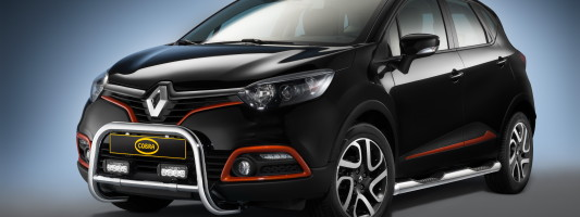 Renault Captur: exklusives Zubehör von Cobra Technology & Lifestyle
