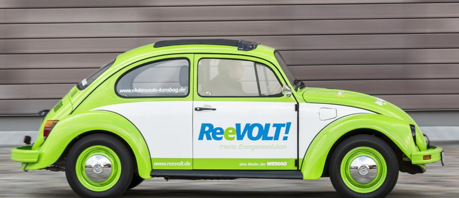 VW Käfer als Elektroauto