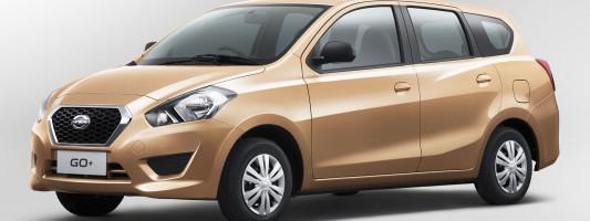 neuer Datsun Go Plus: Mini-Van mit sieben Sitzen