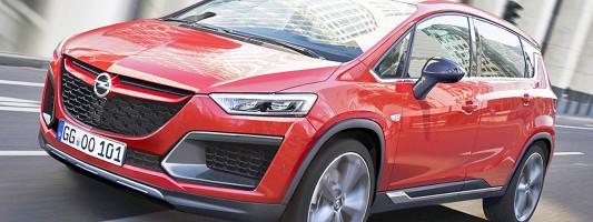 neuer Opel Activa: Mix aus SUV und Van