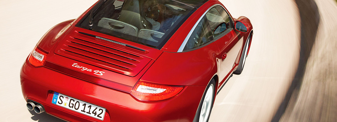 neuer Porsche 911 Targa: Modell ohne Glasdach