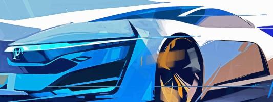 Honda FCEV Concept: Weltpremiere auf der LA Auto Show 2013