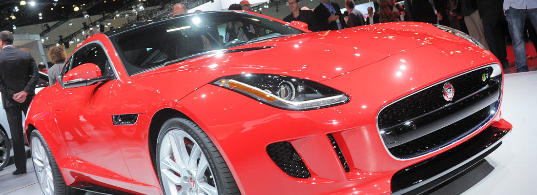 Jaguar F-Type Coupé: Weltpremiere auf der L.A. Autoshow 2013