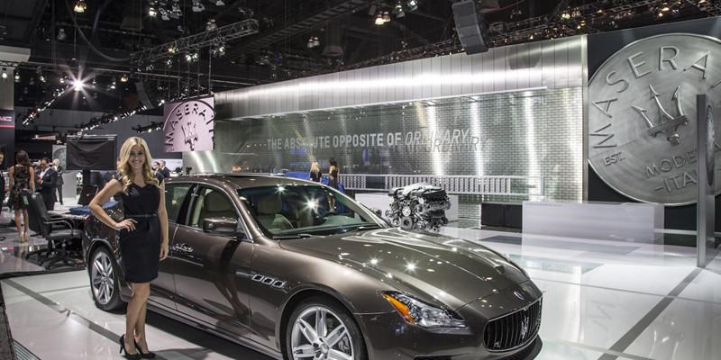 neuer Maserati Ghibli: Premiere auf der L.A. Auto Show 2013