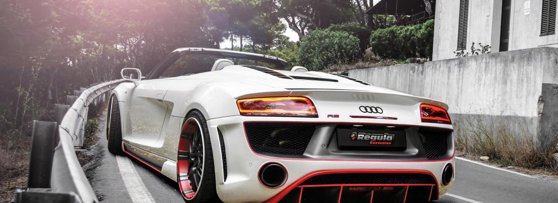 Audi R8 V10 Spyder: Bodykit von Regula Tuning
