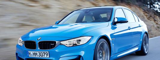 BMW M3 und M4 Coupé: Weltpremiere auf der Detroit Auto Show 2014