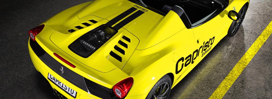 Ferrari 458 Spider: Tuning von Capristo