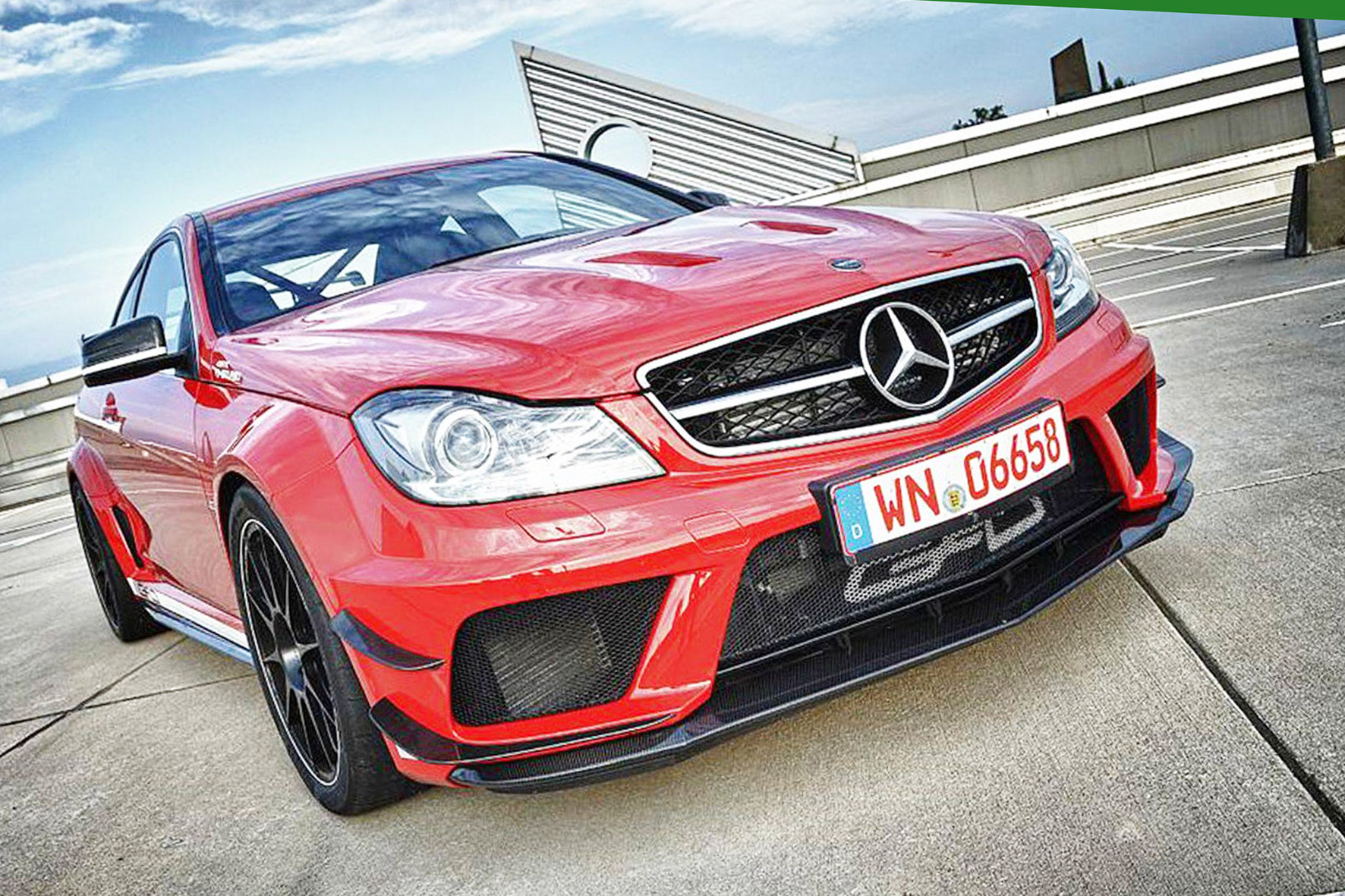 GAD Mercedes-Benz C63 AMG Black Series