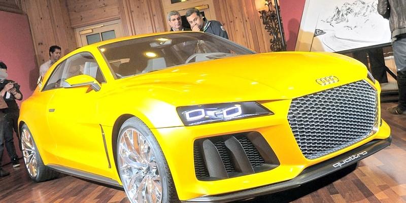 neuer Audi Quattro: Sportwagen auf Basis des A6