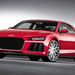Audi Sport Quattro Laserlight Concept auf der CES 2014